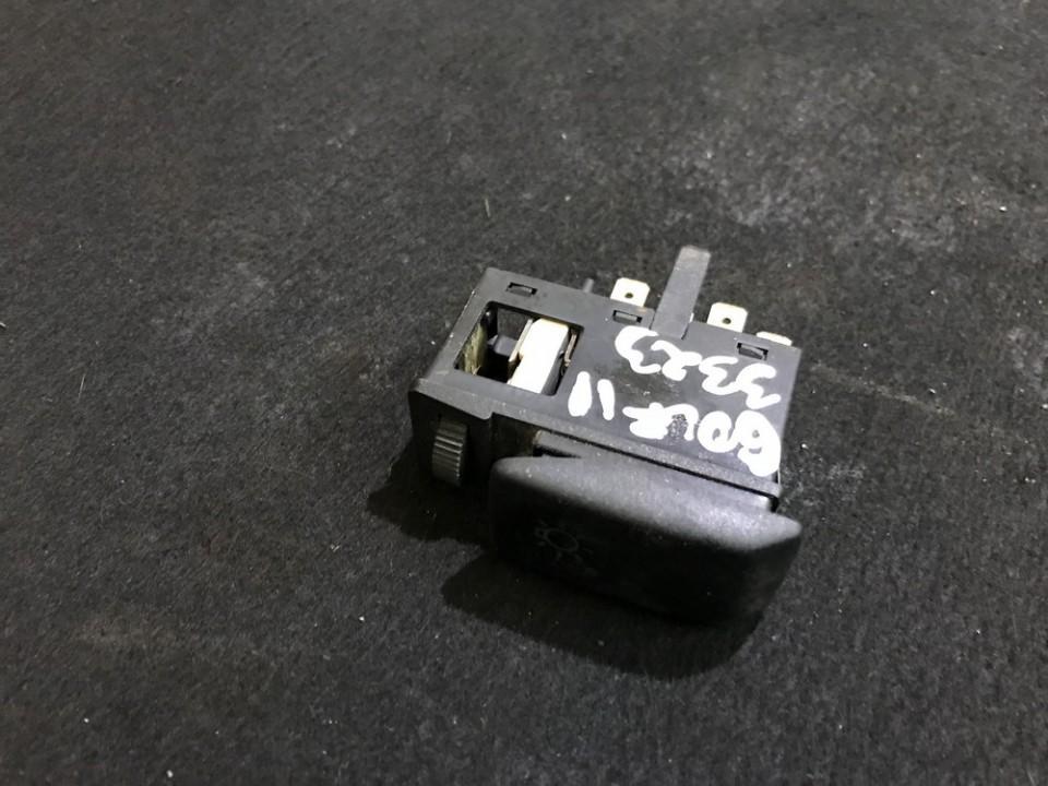 Headlight Switch Volkswagen Golf 1987    1.6 191941531H
