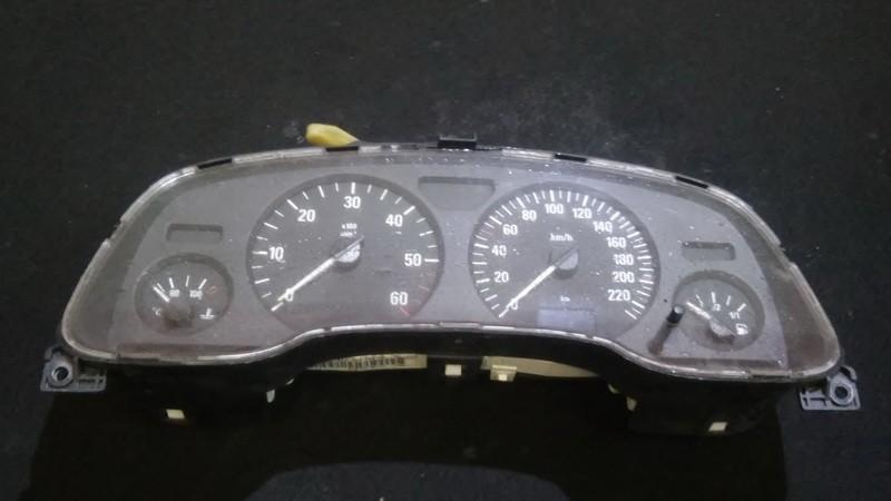 Spidometras - prietaisu skydelis 88311318 24451498zh,87001342,24451498 Opel ASTRA 1998 1.7