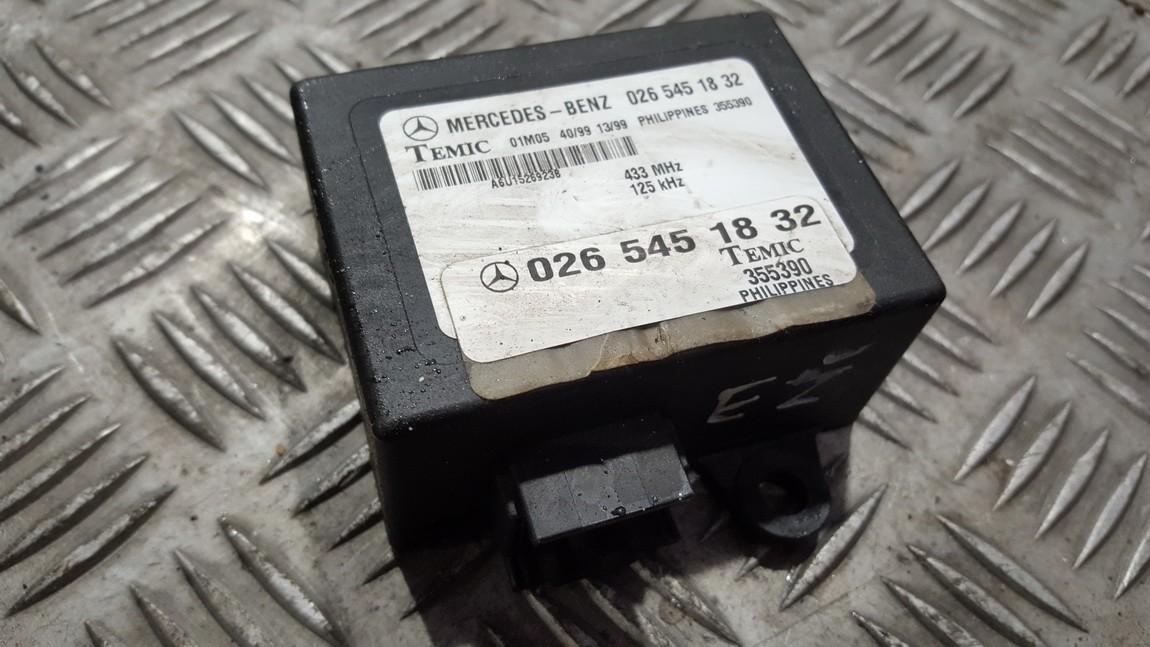 Другие компьютеры 0265451832 A6U1526923B Mercedes-Benz VITO 2006 2.2