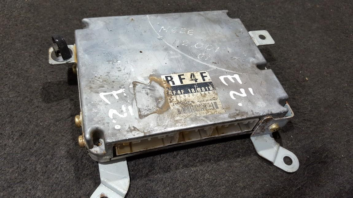 rf4f18881d 275800-5663, 2758005663 ECU Engine Computer Mazda 626 2000 2.0L 45EUR EIS00279809