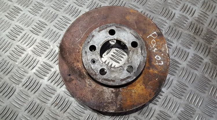Priekinis stabdziu diskas NENUSTATYTA n/a Volkswagen POLO 2003 1.2