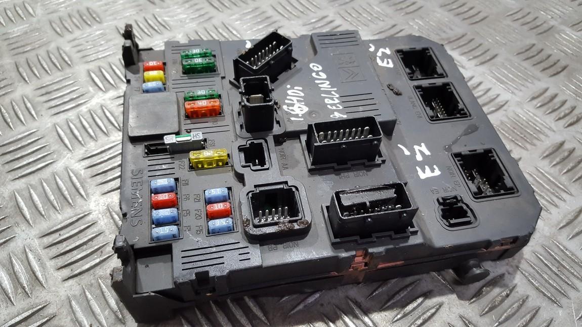 Komforto blokas 9657999680 BSIE01-00, BSIE0100, S118085320F Citroen BERLINGO 2008 1.6
