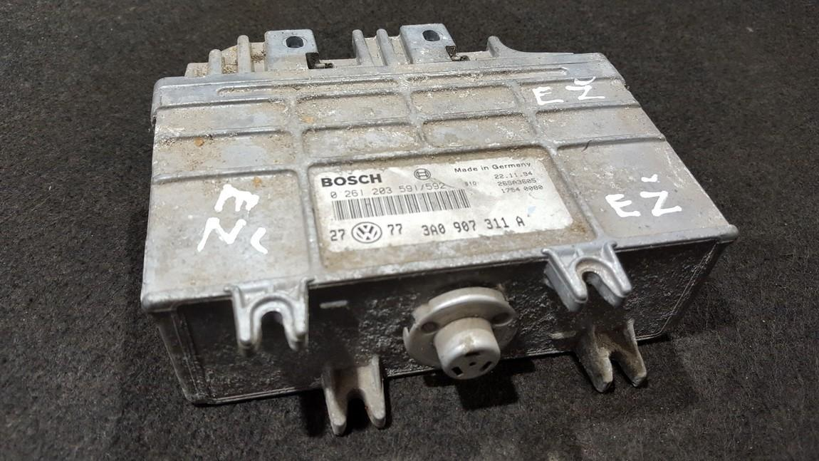 ECU Engine Computer  Volkswagen Passat 1995    1.8 3A0907311A