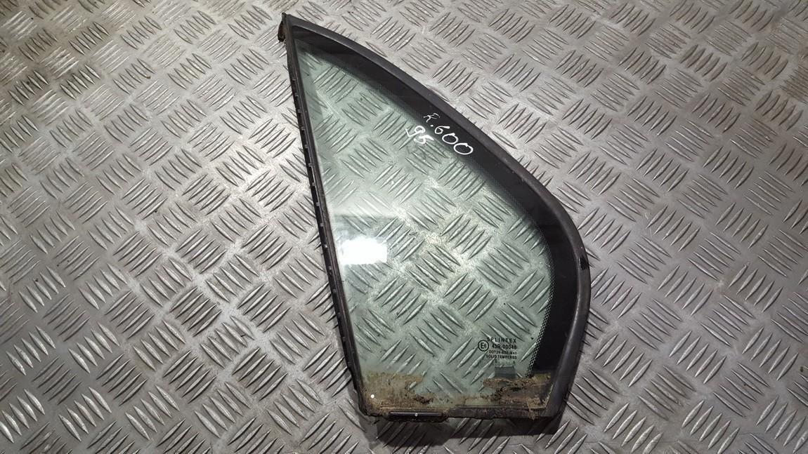 Rear Left driver side corner quarter window glass  Rover 600-Series 1998    0.0 43R00048