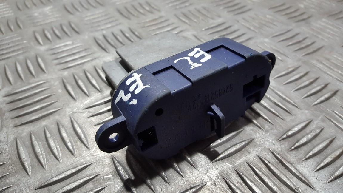 Peciuko reostatas (ezys) (ventiliatoriaus rele) 5248521812v 52485218-12v Renault LAGUNA 1995 1.8