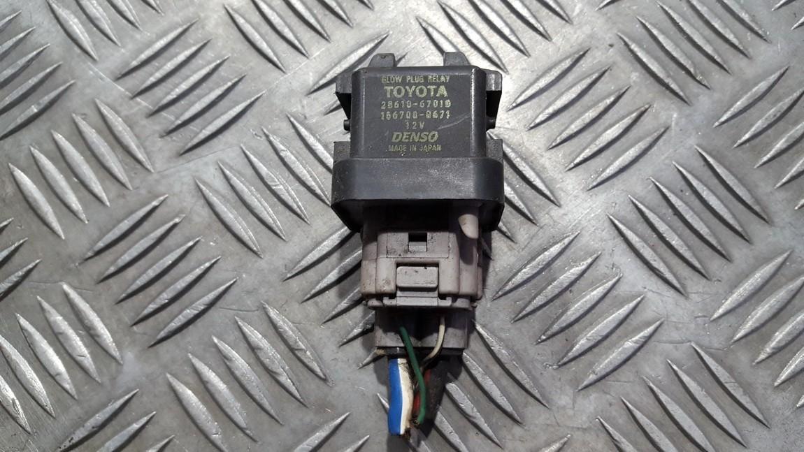 Relay module Toyota RAV-4 2004    0.0 1567000671