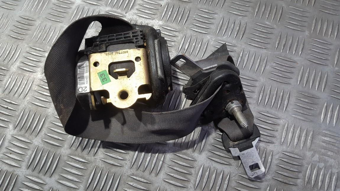 Seat belt - rear right side Renault Scenic 2004    0.0 309223