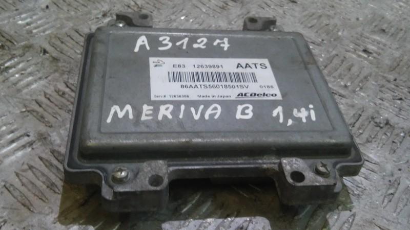 Opel  Meriva Variklio kompiuteris