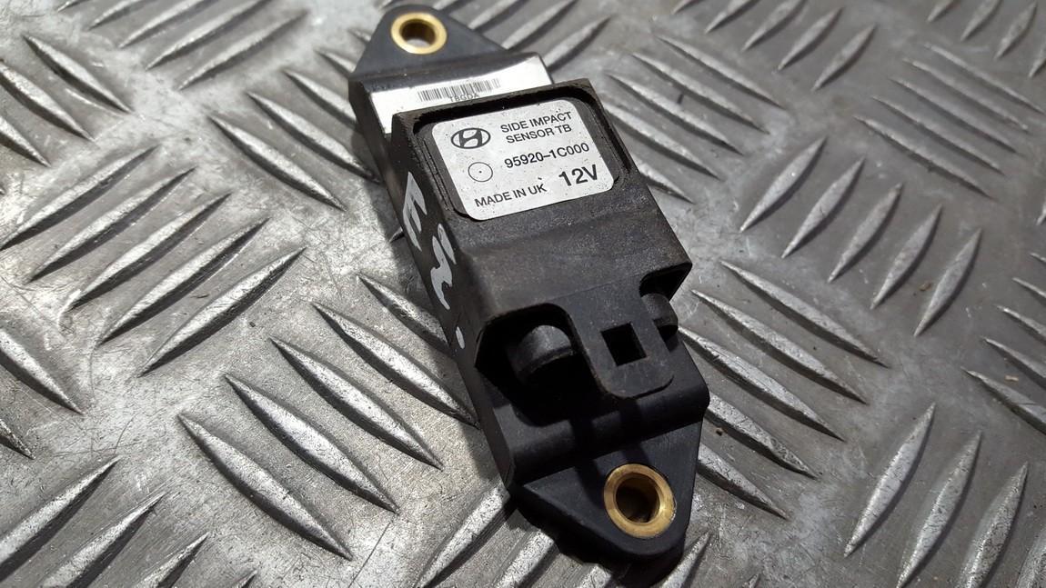 Srs Airbag crash sensor Hyundai  Getz, 2002.08 - 2009.06