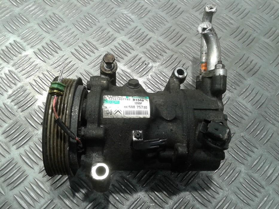 Компрессор системы кондиционирования 9659875780 NENUSTATYTA Peugeot 207 2009 1.4