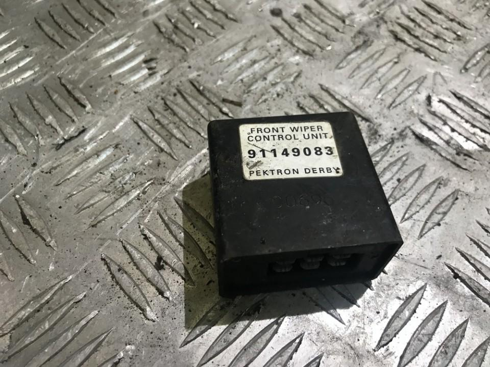 Wiper wash control Opel Frontera 1995    0.0 91149083