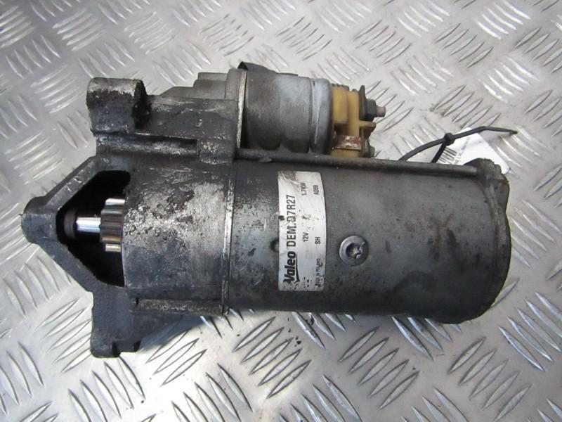 Starteris 9625383280 D7R27 Peugeot PARTNER 2004 1.9