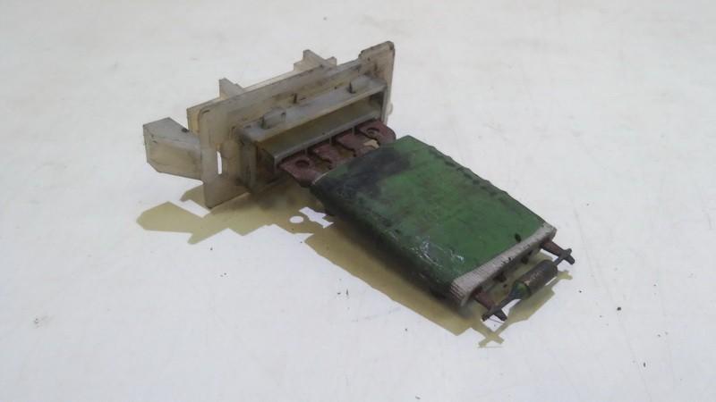 Heater Resistor (Heater Blower Motor Resistor) used used Opel VECTRA 2006 1.9