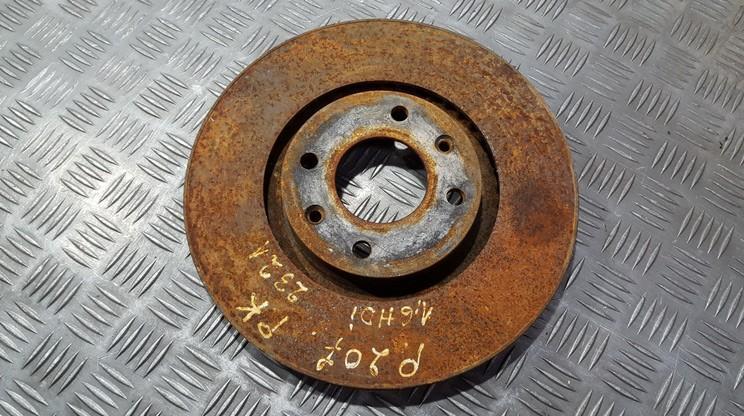 Priekinis stabdziu diskas used used Peugeot 207 2009 1.4