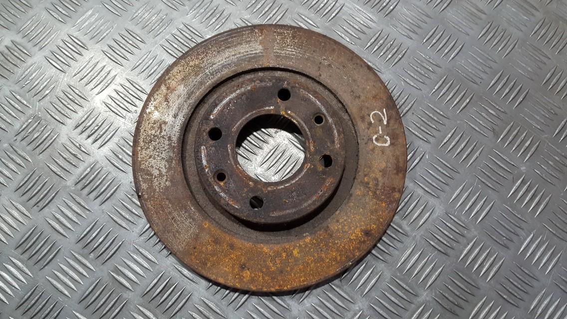 Диск тормозной передний Citroen C2 2004    1.1 used
