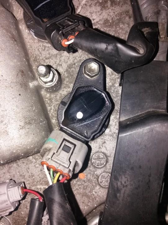 Uzdegimo rite (babina) 9091902252 90919-02252 Toyota AURIS 2007 2.0