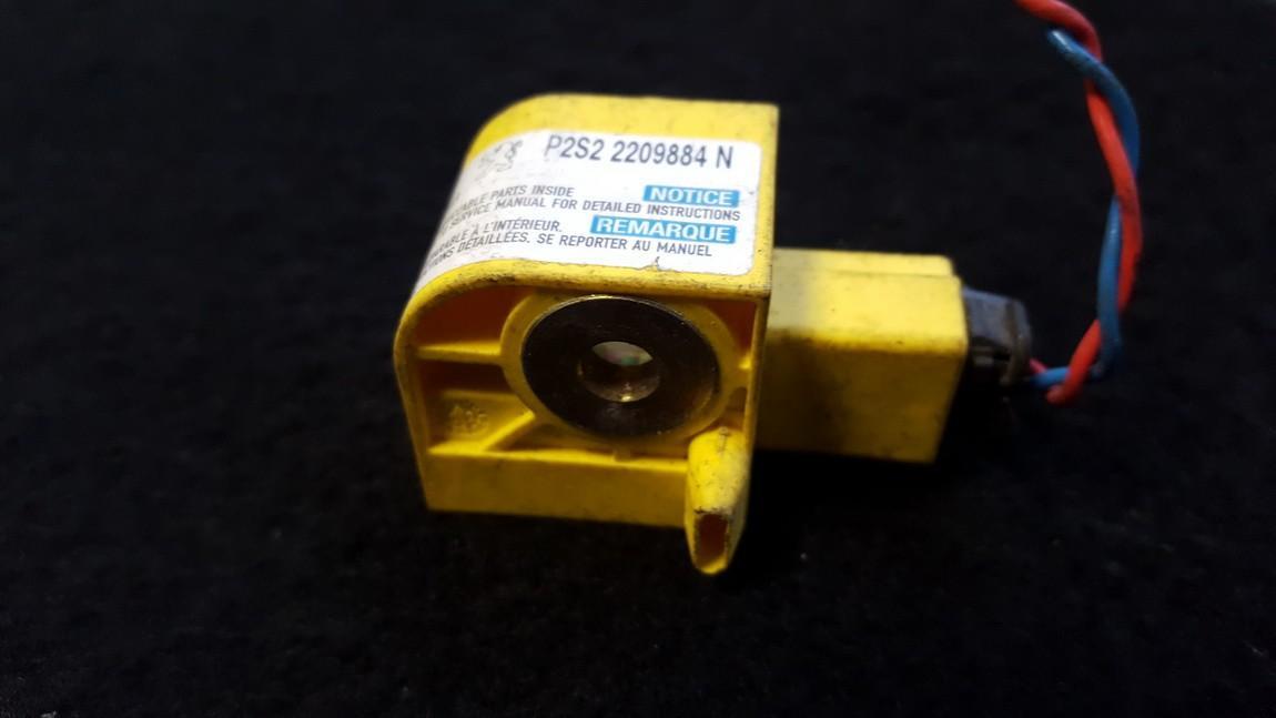 9649474680 5WK42989 Srs Airbag crash sensor Peugeot 307 2003 0 0L 9EUR  EIS00289784 | Used parts Shop