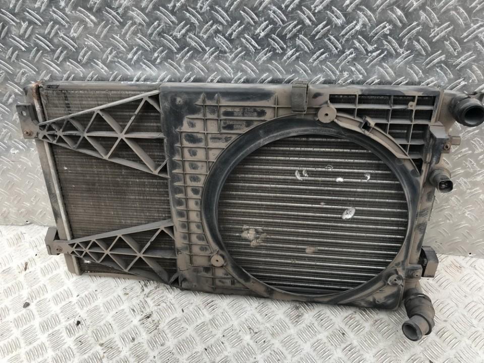 Difuzorius (radiatoriaus ventiliatoriaus) 1j0121207 13-55d2351 Volkswagen GOLF 1997 1.9