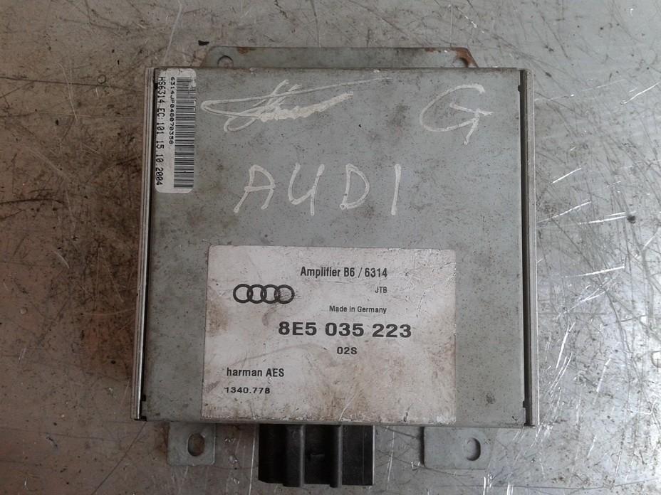 Стерео усилители Audi A4 2003    0.0 8E5035223