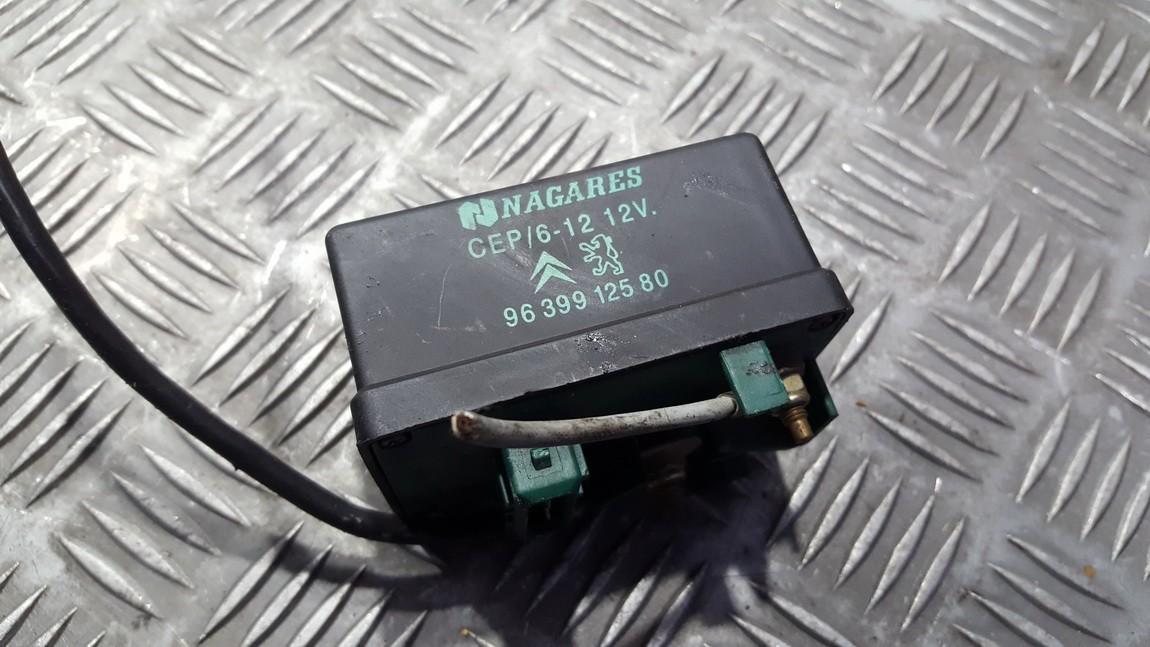 блок управления свечами накаливания Citroen C5 2002    2.0 9639912580