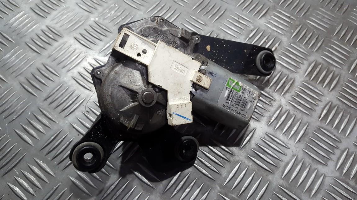 Задняя электродвигатель стеклоочистителя Peugeot 307 2003    0.0 9637158780