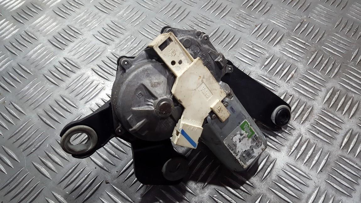 Задняя электродвигатель стеклоочистителя Peugeot 307 2002    0.0 9637158780