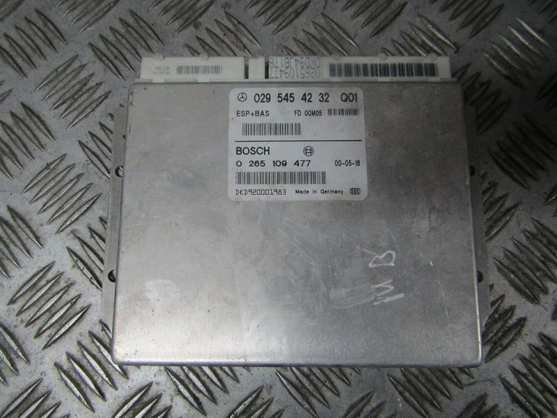 ESP PML BAS CONTROL UNIT ECU Mercedes-Benz A-CLASS 1998    1.7 0295454232