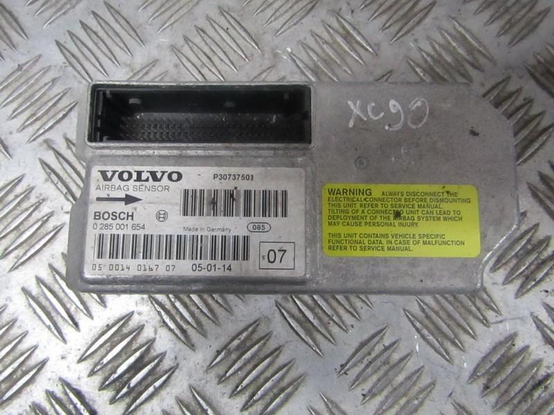 SRS AIRBAG KOMPIUTERIS - ORO PAGALVIU VALDYMO BLOKAS 0285001654 p30737501 Volvo XC 90 2004 2.4