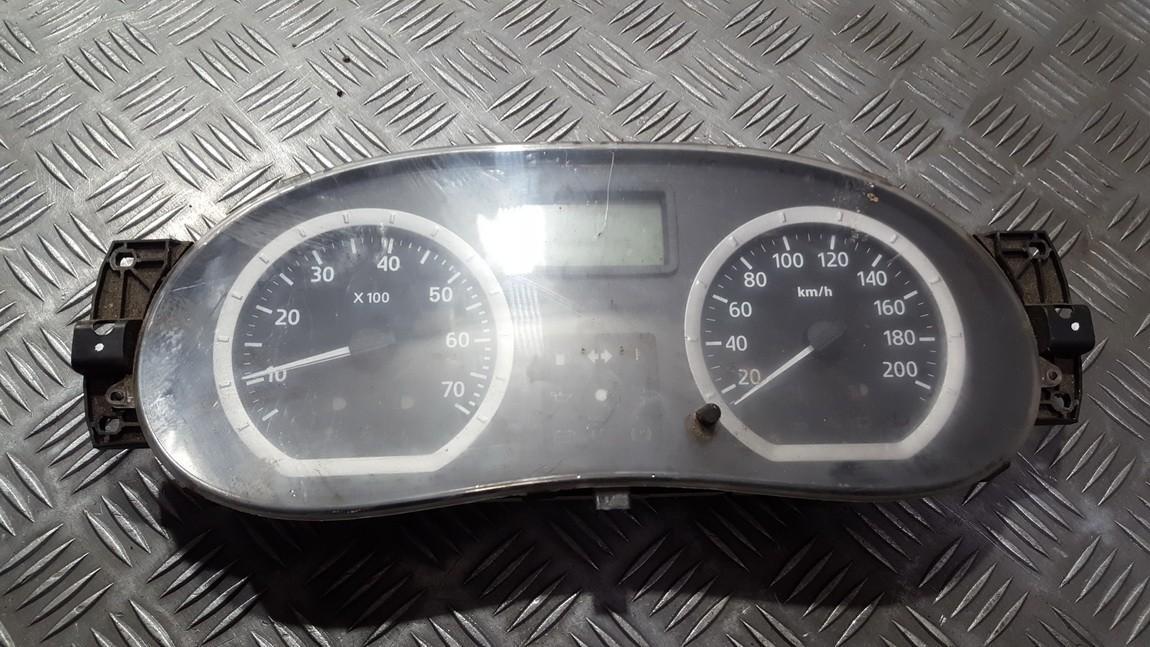Spidometras - prietaisu skydelis 8200752820 used Dacia LOGAN 2005 1.4