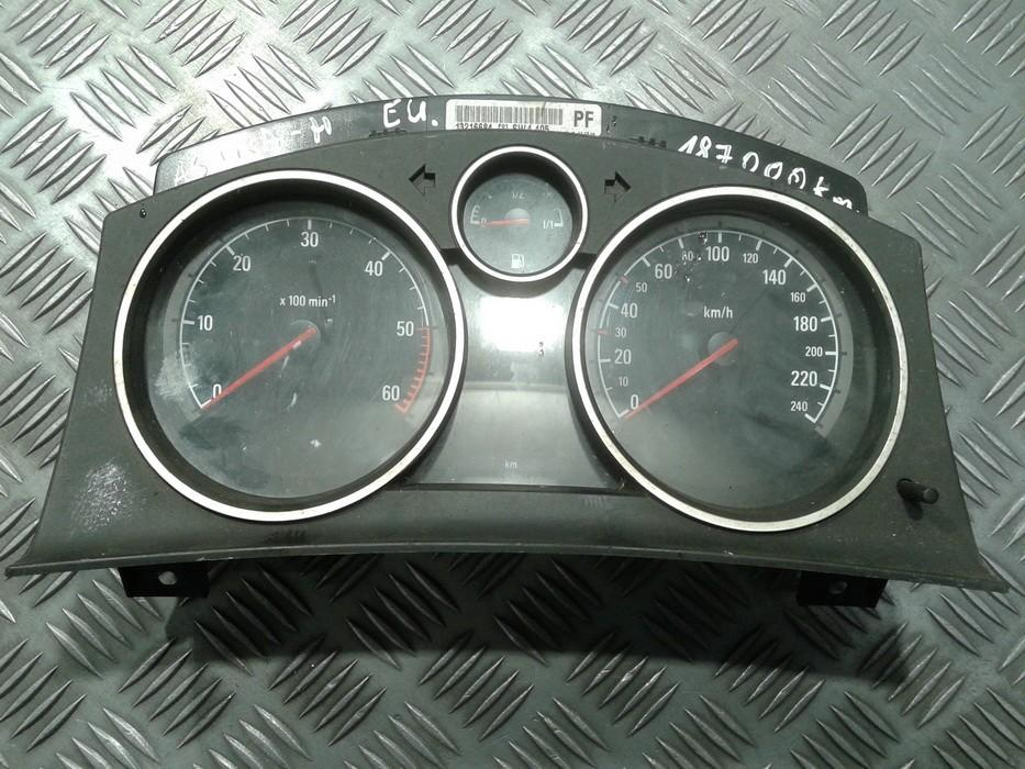 Spidometras - prietaisu skydelis 13216684 SW4.405, SW4405 Opel ASTRA 2006 1.9