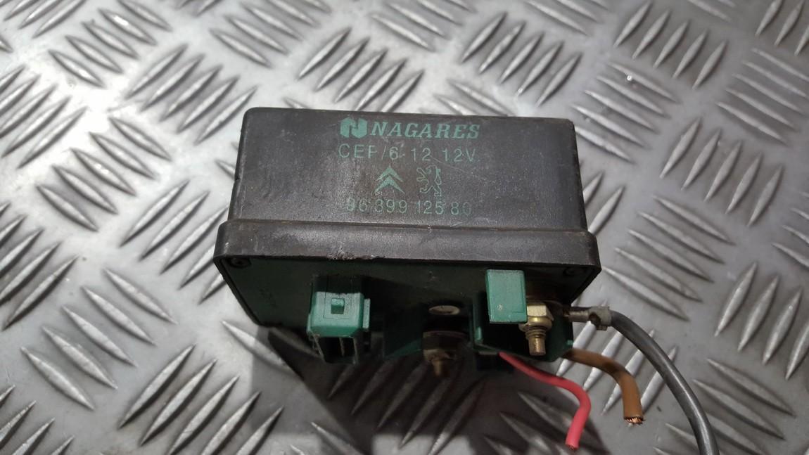 блок управления свечами накаливания Fiat Ducato 2002    2.0 9639912580