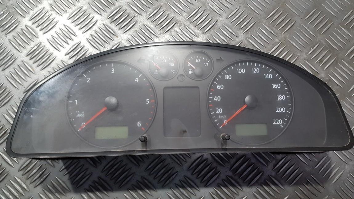 Spidometras - prietaisu skydelis 7H0920851R 88311346 Volkswagen TRANSPORTER 2003 2.5