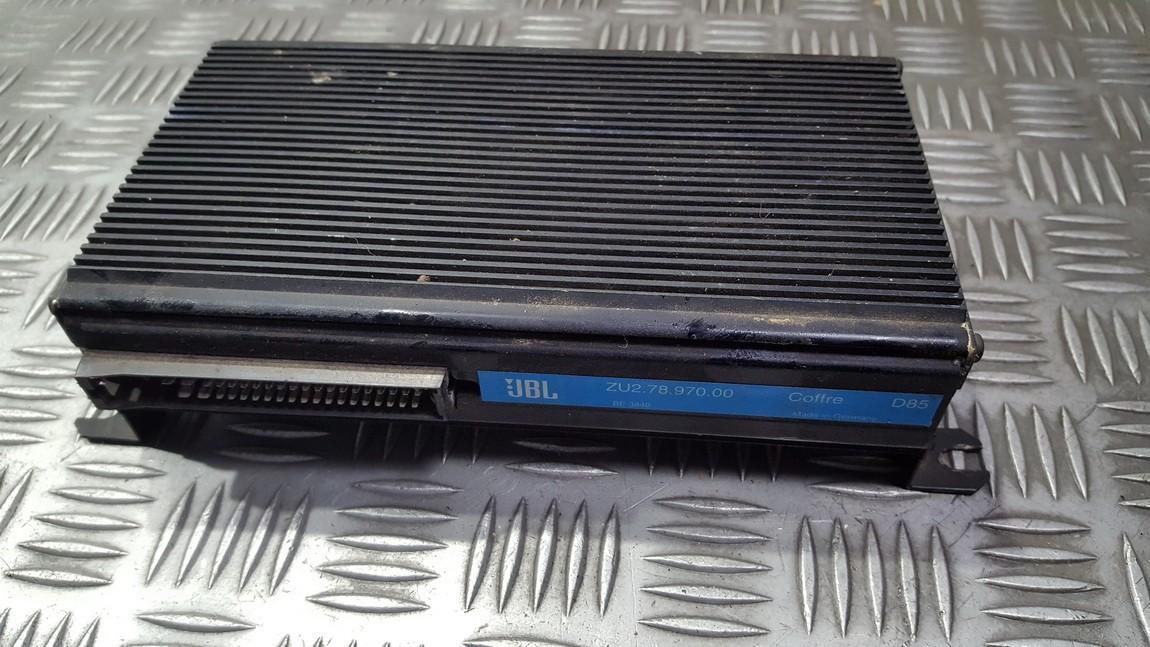 Стерео усилители Peugeot 406 1998    0.0 ZU27897000