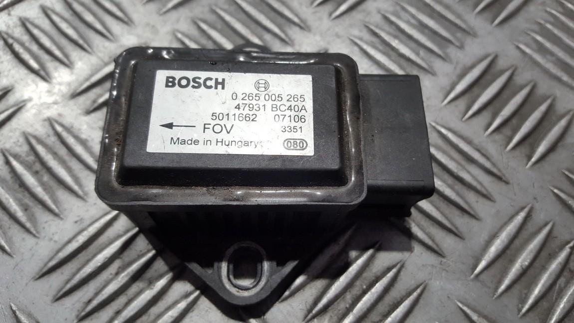Датчик ESP Nissan Note 2006    0.0 0265005265