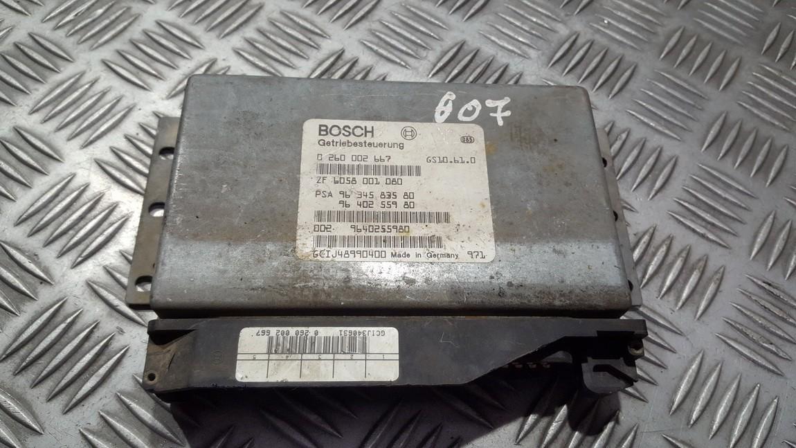 Блок АКПП Peugeot 607 2003    3.0 0260002667