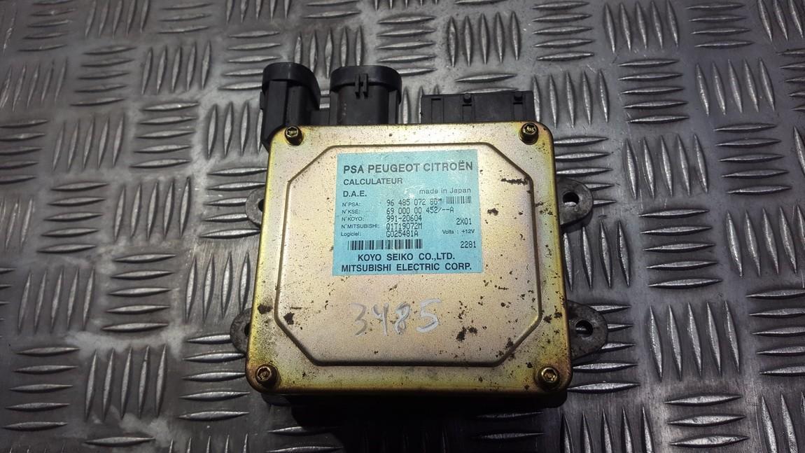 Блоки управления Насос гидроусилителя Citroen C3 2004    1.4 9648507280
