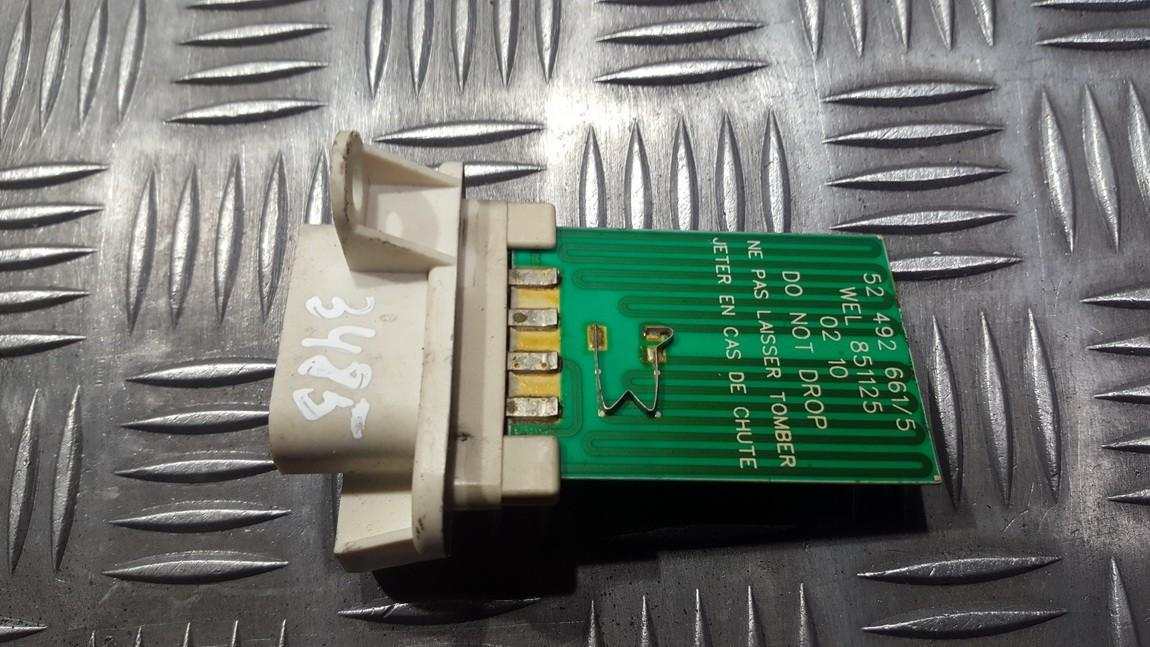 Резистор отопителя Renault Vel Satis 2004    3.0 52492661