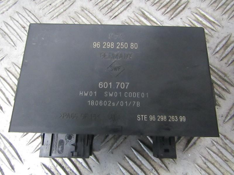 Parking Sensor ECU Peugeot 607 2002    2.2 9629825080