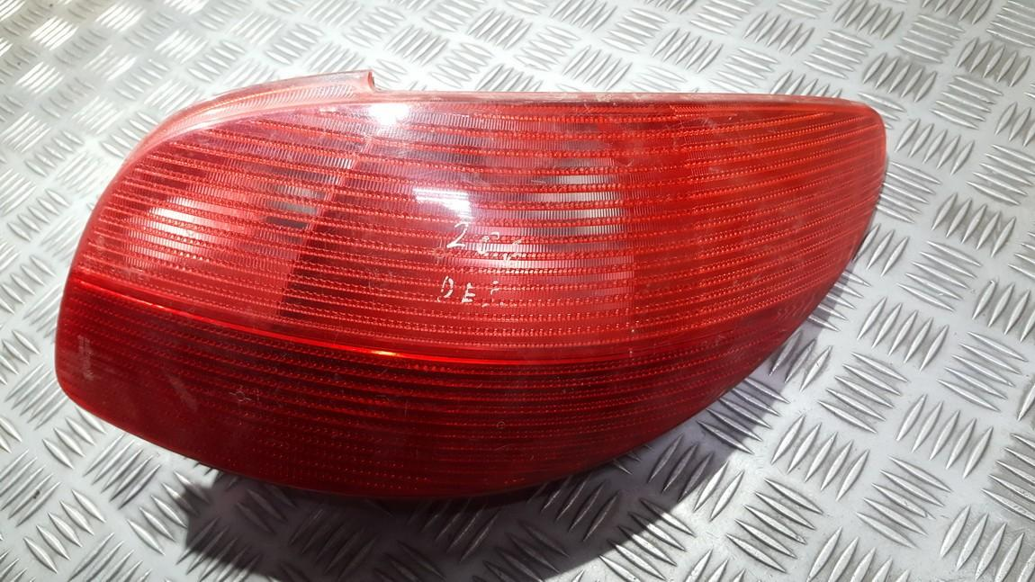 Tail Light lamp Outside, Rear Right 2531D USED Peugeot 206 1998 1.4