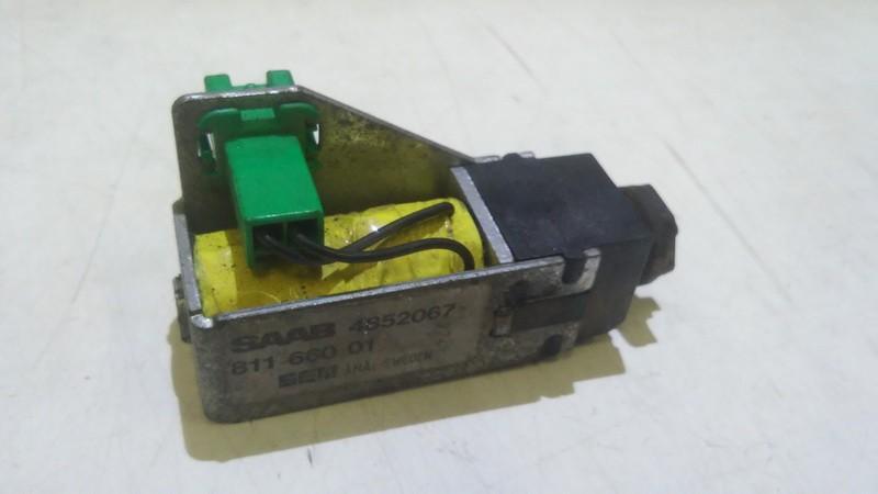 Активатор замка крышки бензобака SAAB 9-5 1998    2.0 4852067