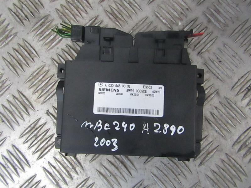 Блок АКПП Mercedes-Benz C-CLASS 2002    2.6 A0305453032