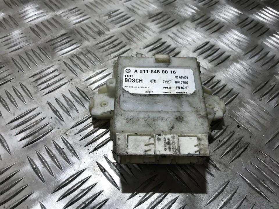 Parking Sensor ECU Mercedes-Benz E-CLASS 2004    0.0 a2115450016