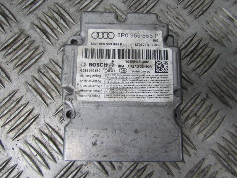 Блок управления AIR BAG  8P0959655P 0285010680 Audi A3 2004 1.9