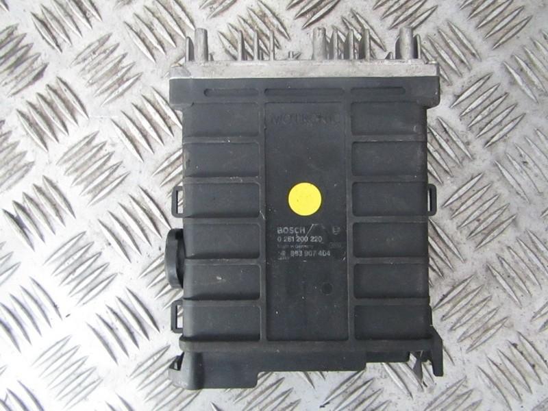 ECU Engine Computer (Engine Control Unit) 893907404 0261200220 Audi 80 1988 1.6