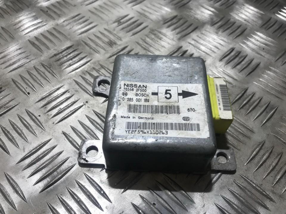 Блок управления AIR BAG  0285001189 285562f500 Nissan ALMERA 1995 1.6