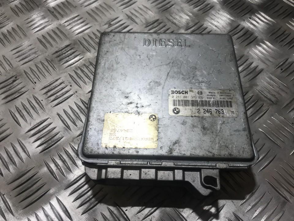 Variklio kompiuteris 0281001373 2246763, 28rtd850 BMW 5-SERIES 1997 2.5
