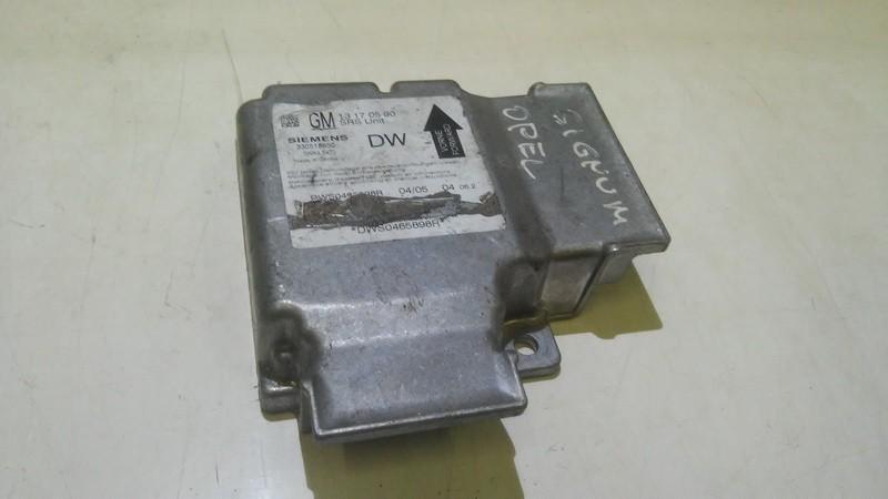 Блок управления AIR BAG  Opel Vectra 2004    1.8 13170590