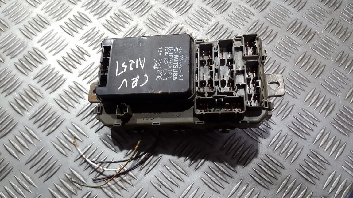 Fuse box  38600S04G1 38600-S04-G1, RK-0298, RK0298 Honda CR-V 2007 2.2