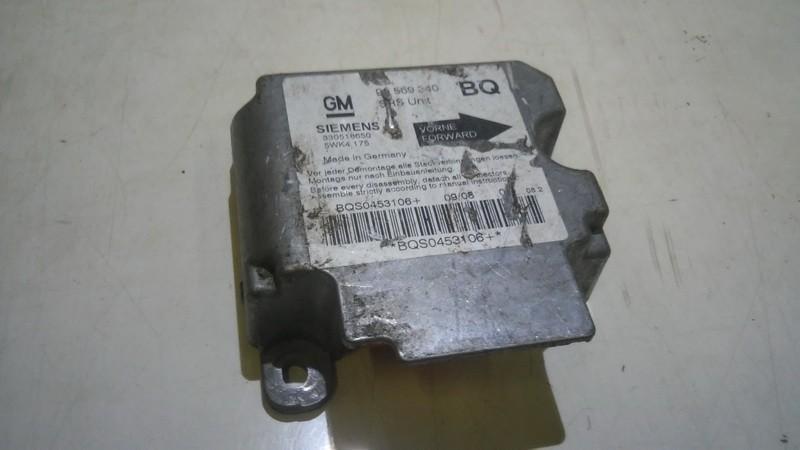 Блок управления AIR BAG  Opel Vectra 2000    1.8 90569340