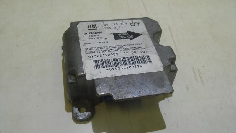 Блок управления AIR BAG  Opel Astra 2003    1.8 09180799